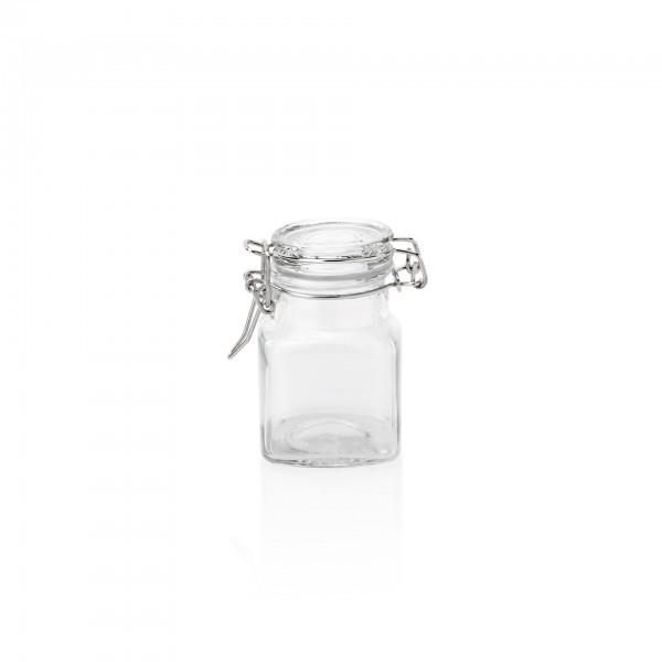 Petit-Bügelverschlussglas - Glas - Deckel mit Dichtung