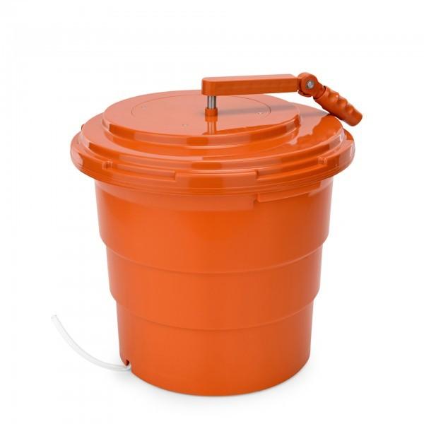 Salatschleuder - Polypropylen - mit Wasserablaufschlauch - premium Qualität - 1628 250