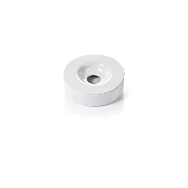 Windaschenbecher - Melamin - weiß - 2-teilig - premium Qualität