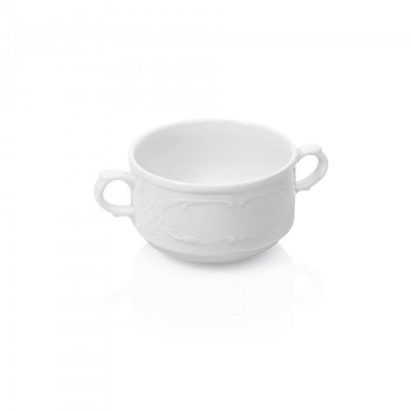 Suppentasse - Serie Bavaria - Porzellan - mit Henkelgriff - premium Qualität