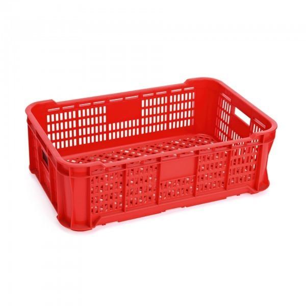 GN-Transport- / Lagerkasten - Polypropylen - rot - für GN Behälter 1/1 - premium Qualität