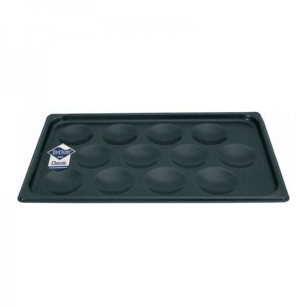 GN-Muffinblech - Aluminium - für 12 Muffins Ø 8,5 cm