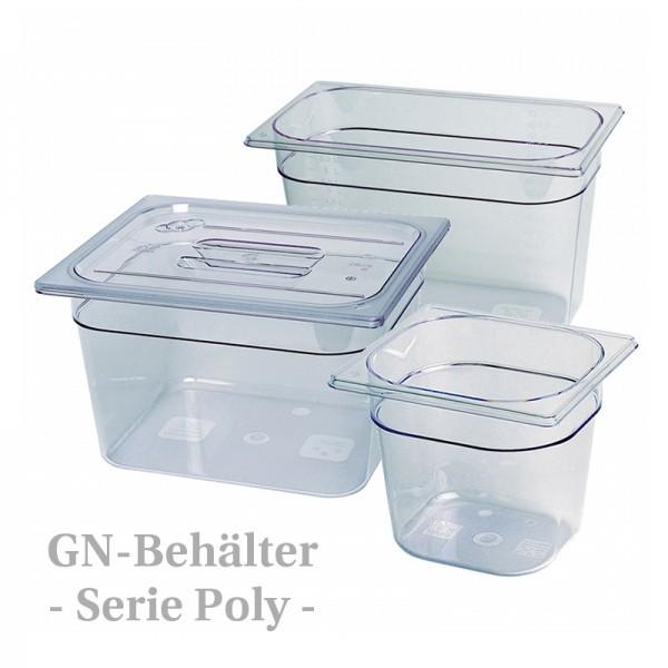 GN-Behälter - Polycarbonat - transparent