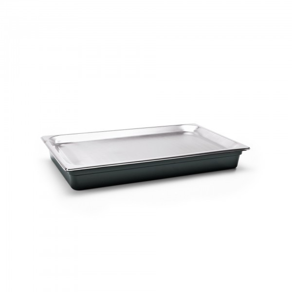 GN-Kühlschale - Polycarbonat - mit Kühlakku und GN 1/1 Tablett