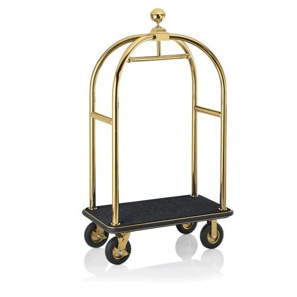 Gepäckwagen - Edelstahl - gold - 2225.005