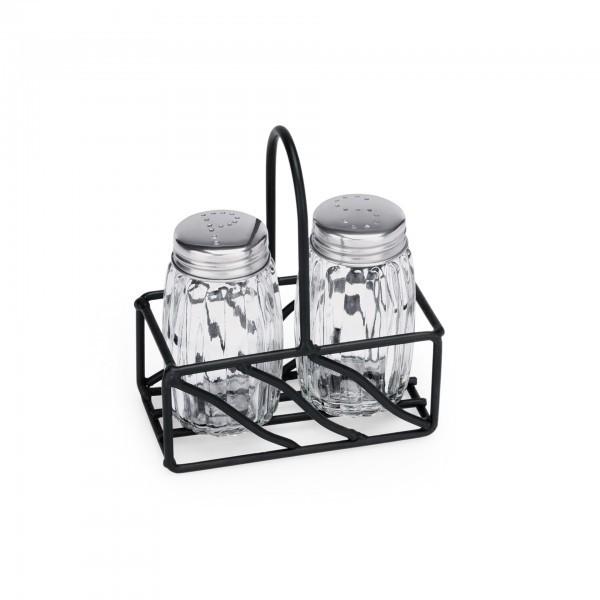 Menage - Serie 1493 - Glas - Salz und Pfeffer - extra preiswert