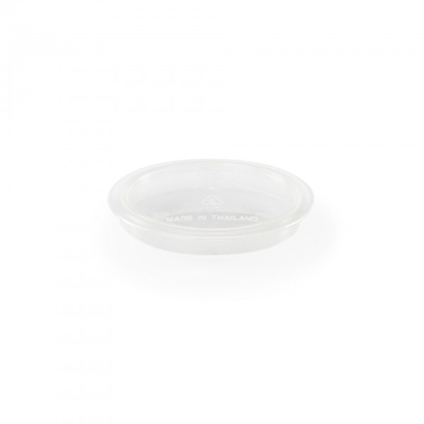 Deckel - Serie Hospital - Polypropylen - transparent - für Becher 3787.023 - premium Qualität