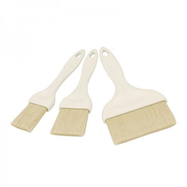 Backpinsel - premium Qualität - Kunststoff - mit Epoxydborsten