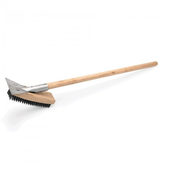 Reinigungsbürste - Holz - längs - Stahlborsten - 2295750