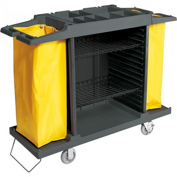 Wäschewagen - Kunststoff - höhenverstellbar