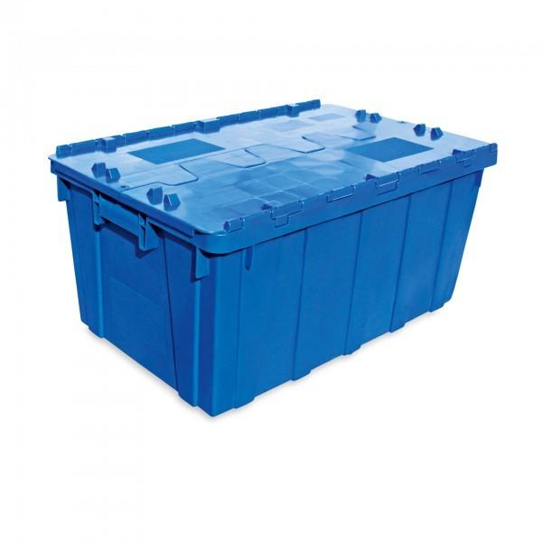 Transport- / Lagerkasten - Polypropylen - blau