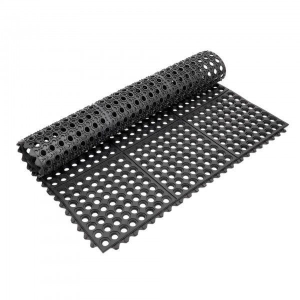 Fußbodenmatte - Gummi - Klick-System