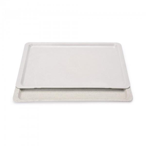 GN-Tablett - Serie 9605 - Polyester - lichtgrau - hellgrau