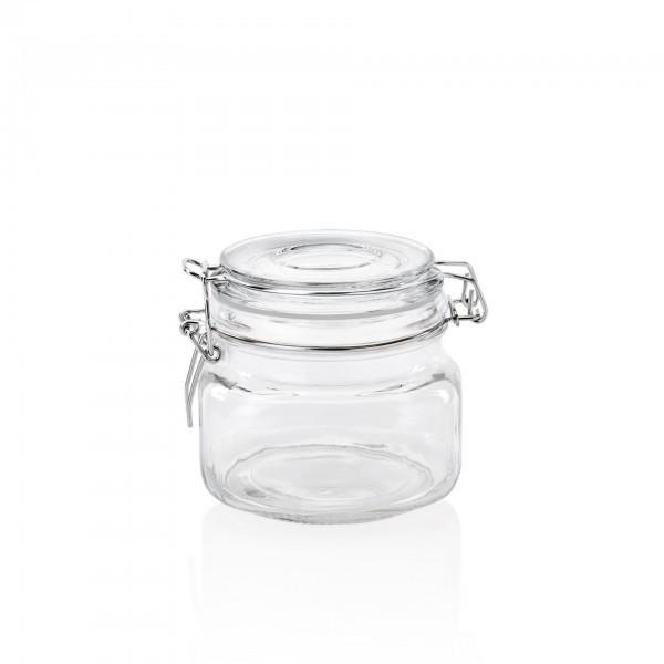 Bügelverschlussflasche - Glas - Deckel mit Dichtung