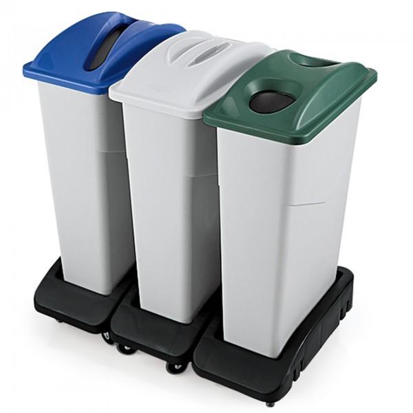 Abfallbehälter - Polyethylen - premium Qualität
