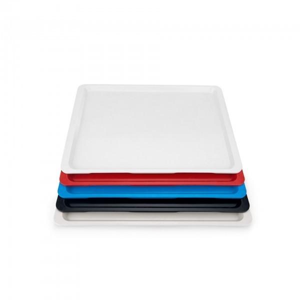 Euronorm-Tablett - Serie 9605 - Polyester - versch. Farben - Stapelnocken