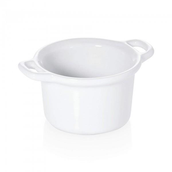 Mini-Schälchen - Porzellan - weiß - rund - 4810.060