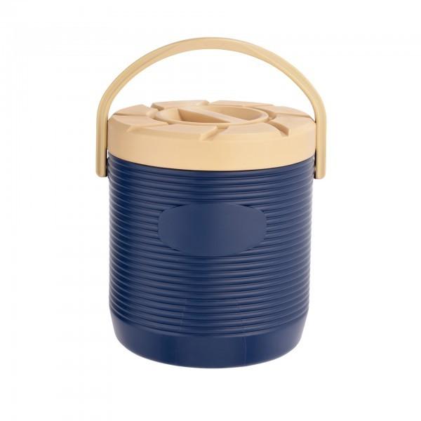 Thermospeisetransportbehälter - Kunststoff - blau - Schraubdeckel - extra preiswert