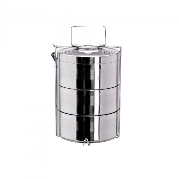 Thermoetagentransportbehälter - Edelstahl - mit Tragegriff - extra preiswert