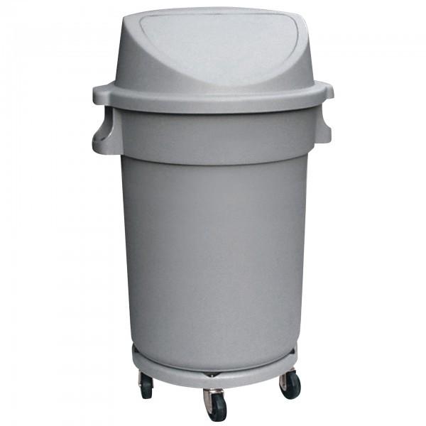 Abfallbehälter - Kunststoff - mit Pushdeckel