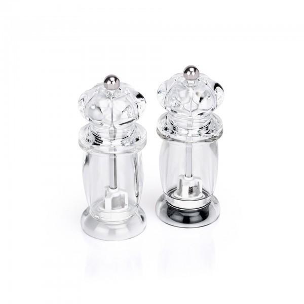 Salz- / Pfeffermühle - Acryl - im Set - premium Qualität
