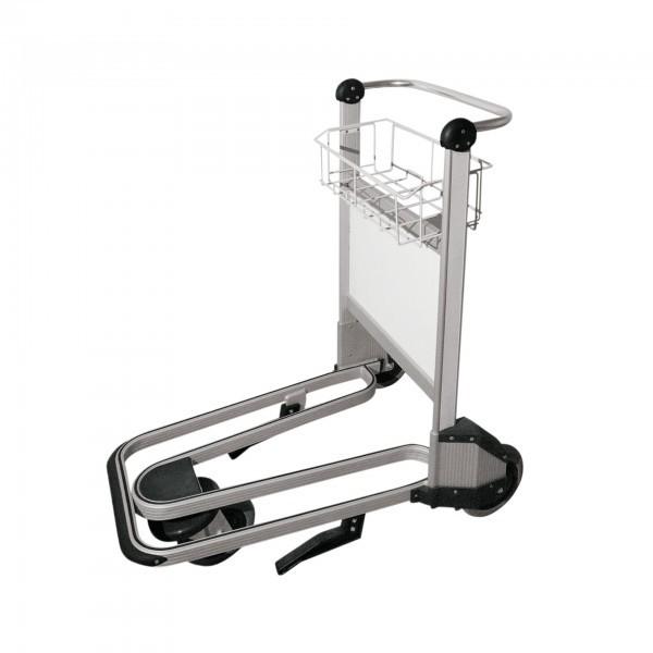 Airport Trolley - Aluminium - 3 Räder mit Kugellager - premium Qualität