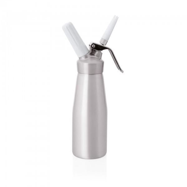 Siphon - Aluminium - mit 3 Spritztüllen - 3240050