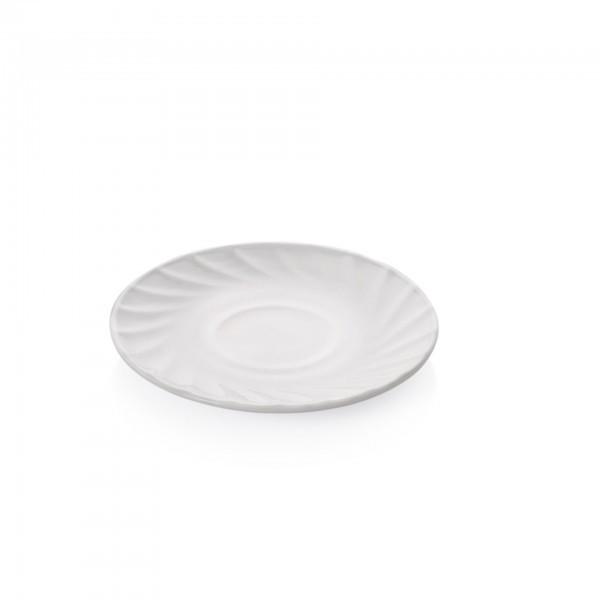 Untertasse - Serie Wave - Opalglas - für Obertasse 9276.018