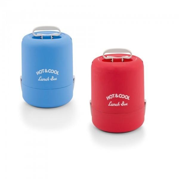 Thermospeisetransportbehälter - Kunststoff - mit 2 Verschlußklammern
