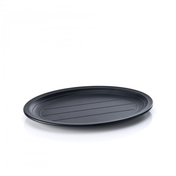 Tablett - Melamin - schwarz - 31,5 x 23 cm