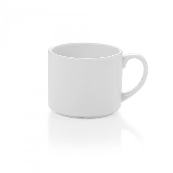 Becher - Porzellan - Höhe: 7,1 cm - Ø 8,5 cm - Inhalt: 0,3 l