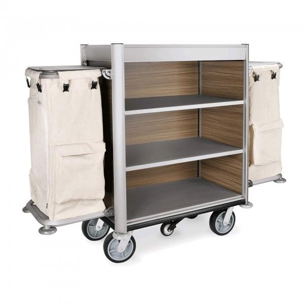 Zimmerservicewagen - Aluminium - beige - 4450.002