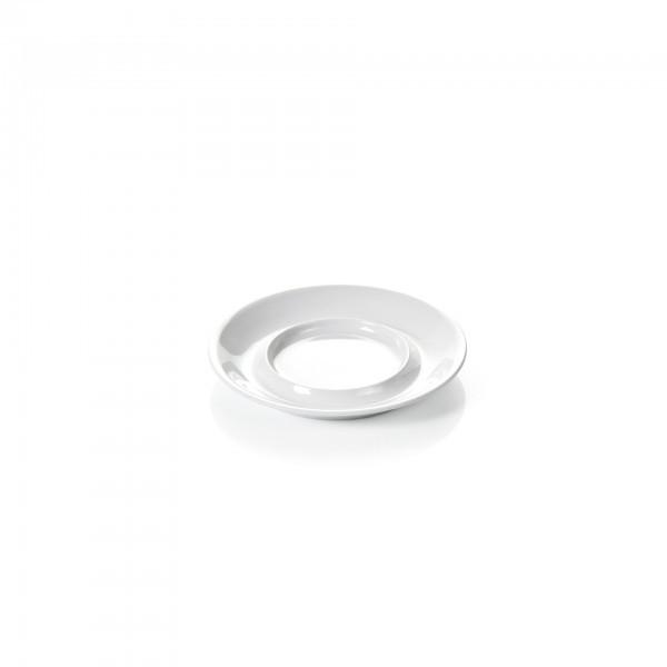 Untertasse - Melamin - weiß - für Obertasse 9366.035