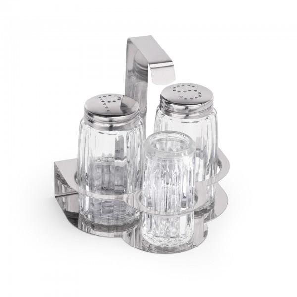 Menage - Glas - 3-teilig