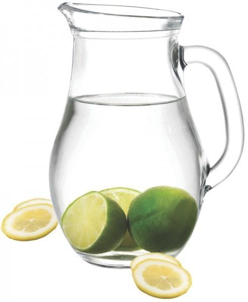Glaskrug mit Füllstrich - 0,50 Liter