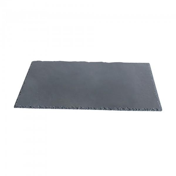 Servierplatte - Naturschiefer - 40 x 30 cm