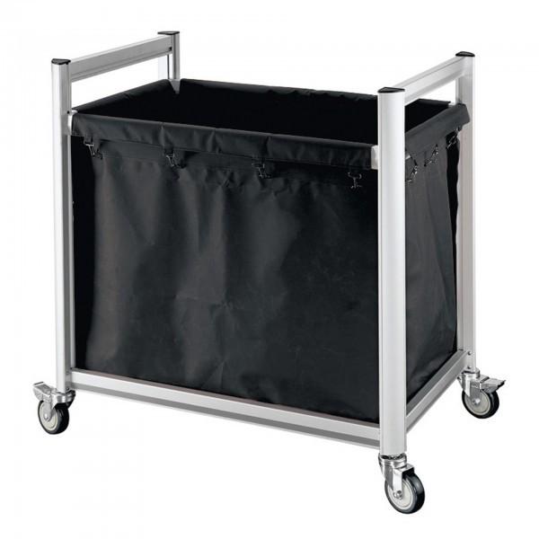 Wäschewagen - Aluminium - 4 Lenkrollen - premium Qualität