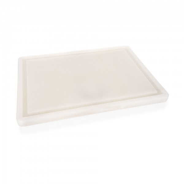 Schneidbrett - Polyethylen - mit Saftrille und Füßen