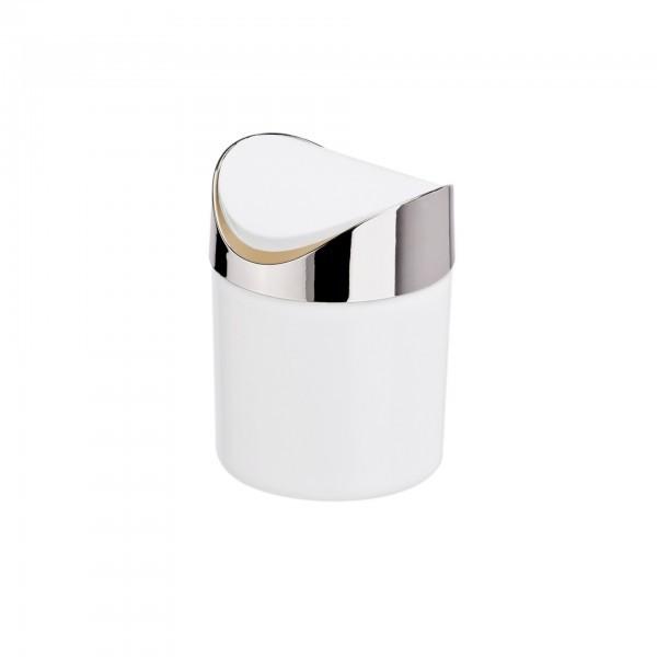 Tischabfalleimer - Kunststoff - mit Schwingdeckel