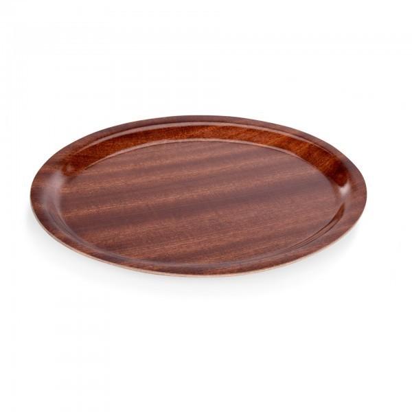 Tablett - Serie 9000 - Pressholz - oval