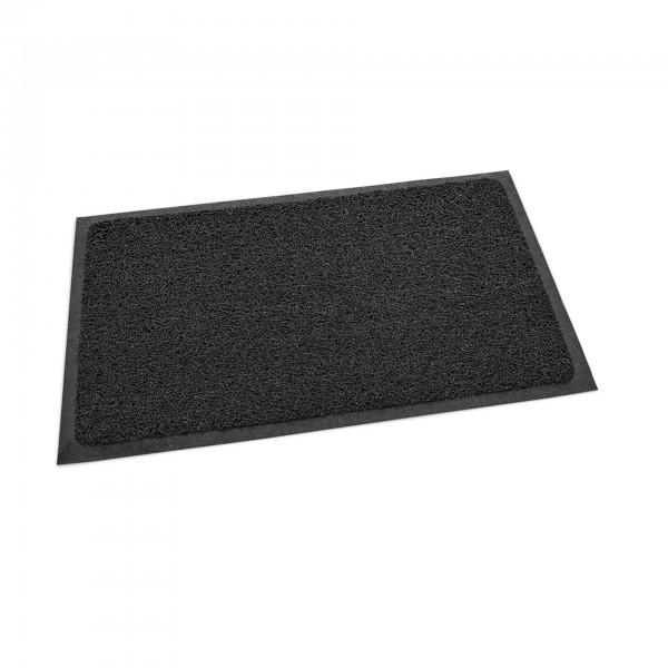 Schmutzfangmatte - PVC - schwarz - ohne Aufdruck