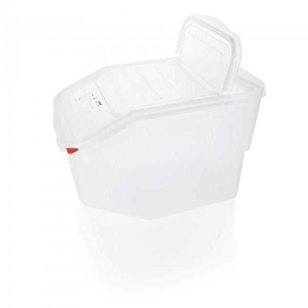 HACCP Zutaten- / Lagerbehälter - Polypropylen - eckig