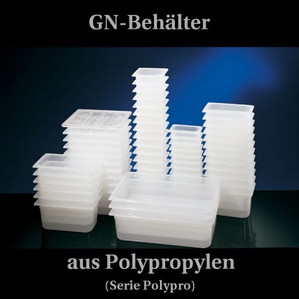 GN-Behälter - Kunststoff - BPA frei