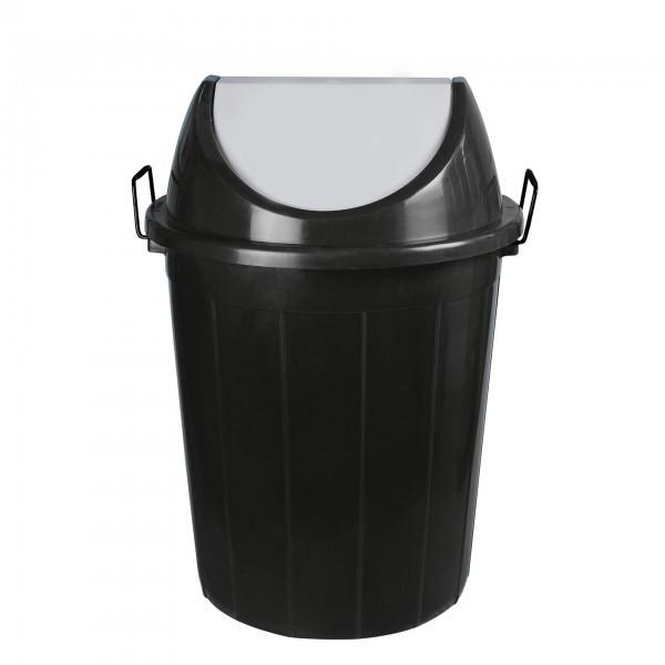 Abfallbehälter - Polyethylen - mit Schwingdeckel