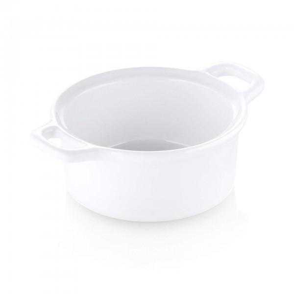 Mini-Schälchen - Porzellan - weiß - rund - 4810.087