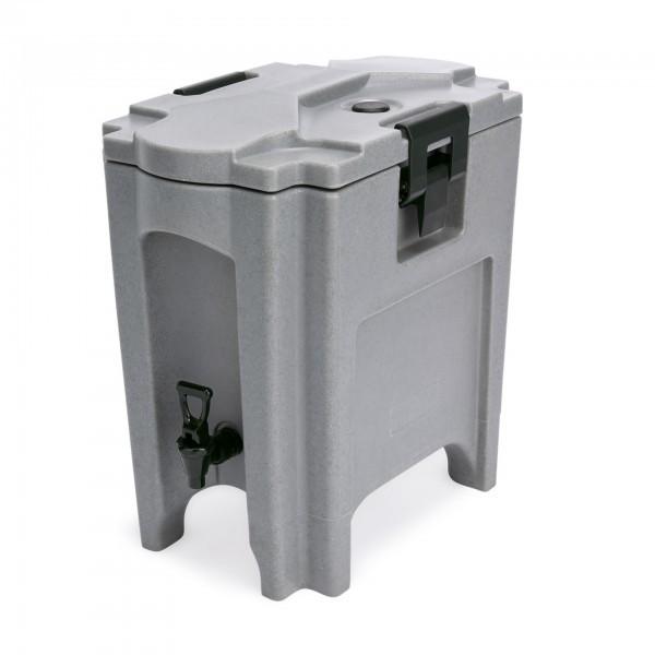 Thermogetränkebehälter - Kunststoff - mit 2 Verschlussklammern - extra preiswert